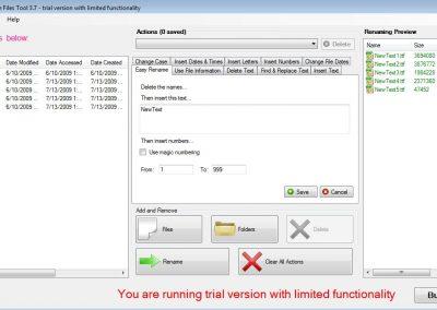 BatchRenameFiles Tool: bulk rename multiple files with one click